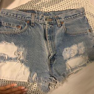 Levi's Shorts - vintage levi shorts size large